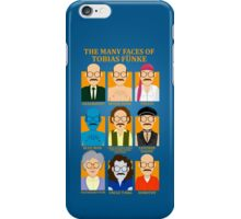 The Many Faces of Tobias Fünke iPhone Case/Skin