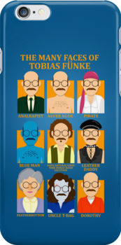 The Many Faces of Tobias Fünke by TimWhedon