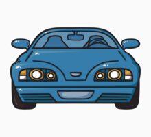 blue car by BoYusya