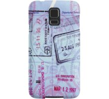 Travel Memories Samsung Galaxy Case/Skin