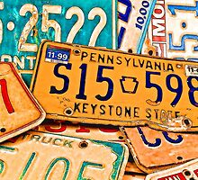 License Plate IPhone by tvlgoddess