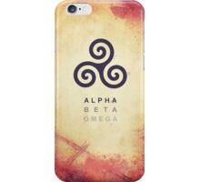 Alpha. Beta. Omega. iPhone Case/Skin