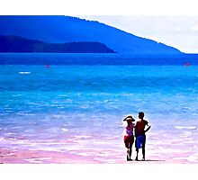 Day Dreaming Couple Photographic Print