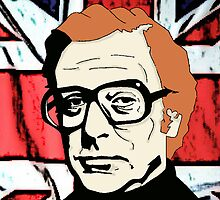 Michael Caine by AshLamont