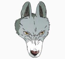 princess mononoke wolf goddess T-Shirt