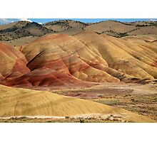 Painted Hills by Evening Light Photographic Print
