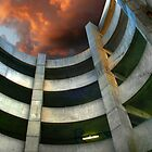 Garage Spiral by Michael  Herrfurth