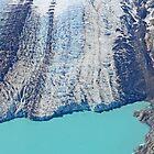 Glacier on Cape Douglas, Alaska by Graeme  Hyde