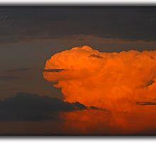 ©HCS The Orange Glow In Cumulos Incus by OmarHernandez