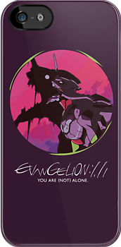 EVA 01 - Evangelion T-shirt / Poster / iPhone case  by Fenx
