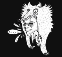 Wolf Hoodie by kimduran