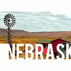 Nebraska Windmill by Daogreer Earth Works