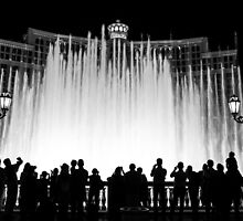 Fountains at the Bellagio by RZSImages
