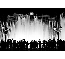 Fountains at the Bellagio Photographic Print