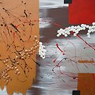 Asian Inspired Abstract 2 by Michelle Potter