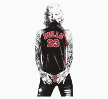 Marilyn Monroe Chicago Bulls by daleos