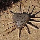 Clay Heart - Brownsea Island by Jani Franck