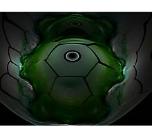 Alien Spacecraft Photographic Print