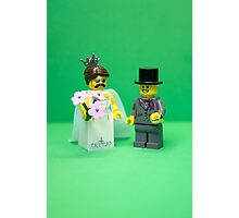 A thoroughly modern marriage Photographic Print