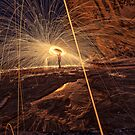 Sparks flying by Adriano Carrideo