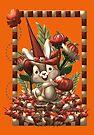 Happy Halloween Rabbit by LoneAngel