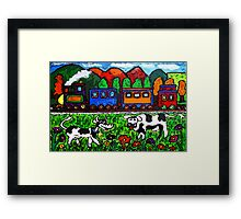 Let's Go For A Train Ride Framed Print