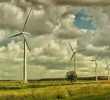 Wind Turbines by Johanna26