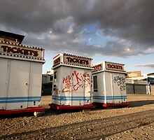 Ticket booths at Coney Island by Reinvention