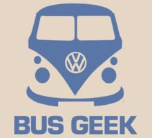 Bus Geek Blue by splashgti