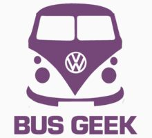 Bus Geek Purple by splashgti