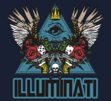 Illuminati - Winged Pyramid by Immortalized