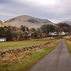 Durisdeer and the Lowther Hills by Christine Smith