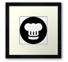 Chef Ideology Framed Print