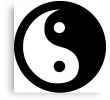 Yin Yang Ideology Canvas Print