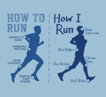 How I Run (Men) - light garments by Teardown