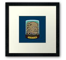 The Face of Boe Framed Print