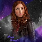 Amy Pond/Karen Gillan- Doctor Who by PaytonGilley
