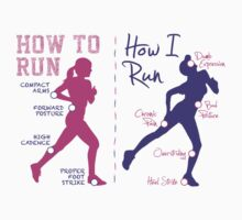 How I Run (Women) - light garments by Teardown