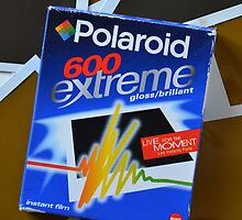 Original pack of vintage Polaroid 600 Extreme Film Case by MJWills26