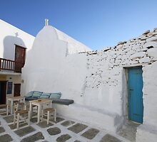 Mykonos- space to relax by kateabell