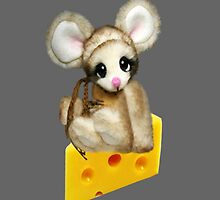 ✿♥‿♥✿LITTLE NIBBLES MOUSE ON CHEESE IPAD CASE✿♥‿♥✿  by ✿✿ Bonita ✿✿ ђєℓℓσ