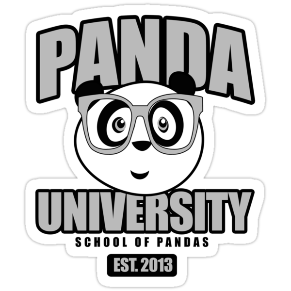 Panda University - Grey 2 by Adamzworld