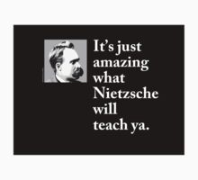 Nietzsche - Philosophy T Shirt (available in other formats) by PaliGap