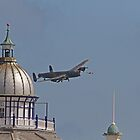 A Lancaster, Airbourne at Eastbourne by Keith Larby