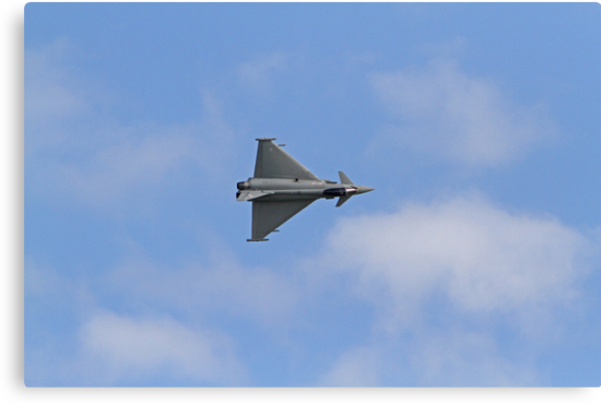 The Typhoon at Airbourne in Eastbourne by Keith Larby