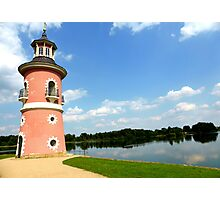 Moritzburg Castle Lighthouse Photographic Print