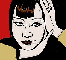 Anna May Wong by AshLamont