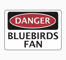 DANGER CARDIFF CITY, BLUEBIRDS FAN, FOOTBALL FUNNY FAKE SAFETY SIGN by DangerSigns