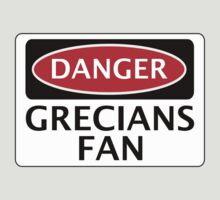 DANGER EXETER CITY, GRECIANS FAN, FOOTBALL FUNNY FAKE SAFETY SIGN by DangerSigns