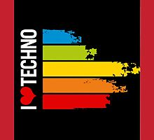 i Love Tecno Music by extrise